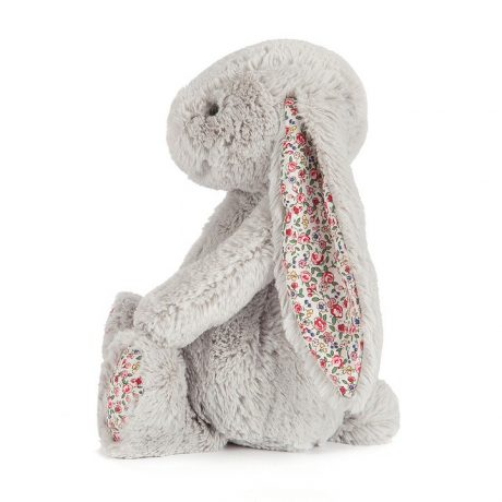 Jellycat Blossom Silver Bunny-4