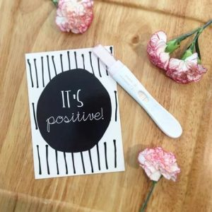 Monochrome Pregnancy Milestone Cards