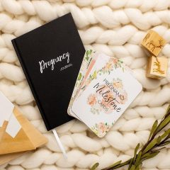 Belle and Grace Pregnancy Journal