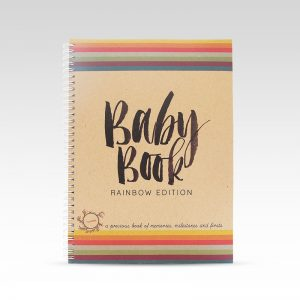 Rhicreative Rainbow Baby Book