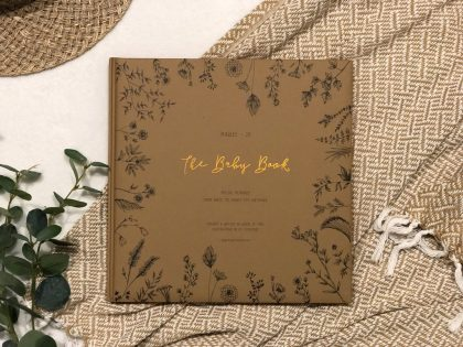 The Baby Book Limited Edition Nature Collection