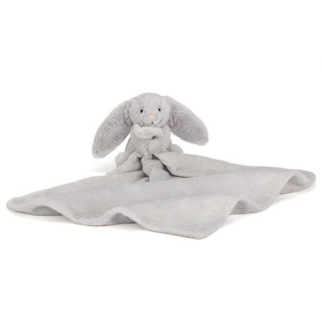 Jellycat Bashful Silver Bunny Soother-3