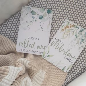 Belle and Grace Luxe baby Milestone Cards