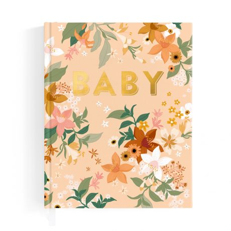 Fallow Floral Baby Book-1