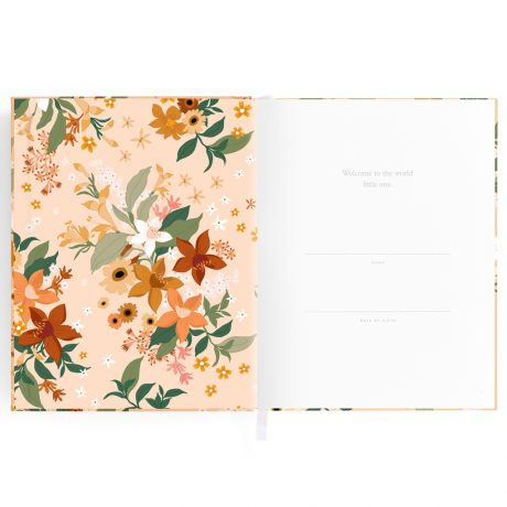 Fallow Floral Baby Book-2