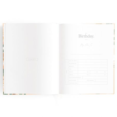 Fallow Floral Baby Book-4