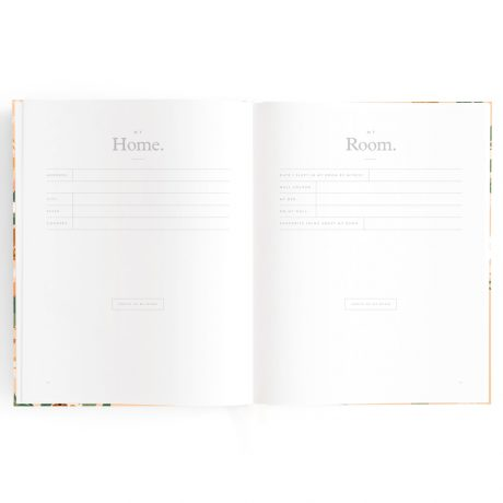 Fallow Floral Baby Book-9