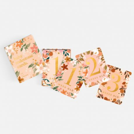 Fox & Fallow Floral Baby Milestone Cards-10