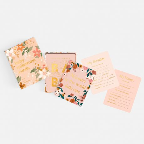 Fox & Fallow Floral Baby Milestone Cards-2