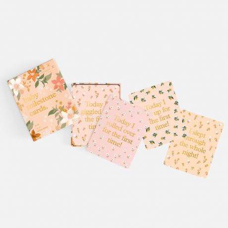 Fox & Fallow Floral Baby Milestone Cards-4