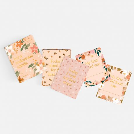 Fox & Fallow Floral Baby Milestone Cards-5