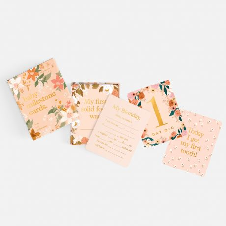 Fox & Fallow Floral Baby Milestone Cards-6