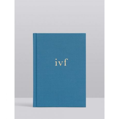 Write To Me IVF Journal – Blue-1