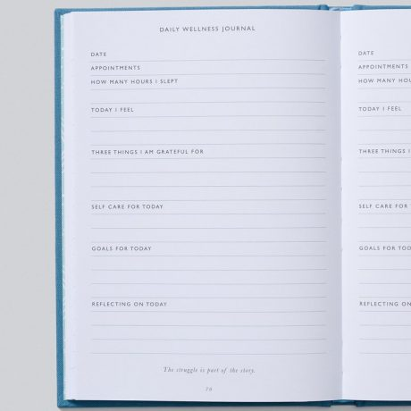 Write To Me IVF Journal – Blue-8